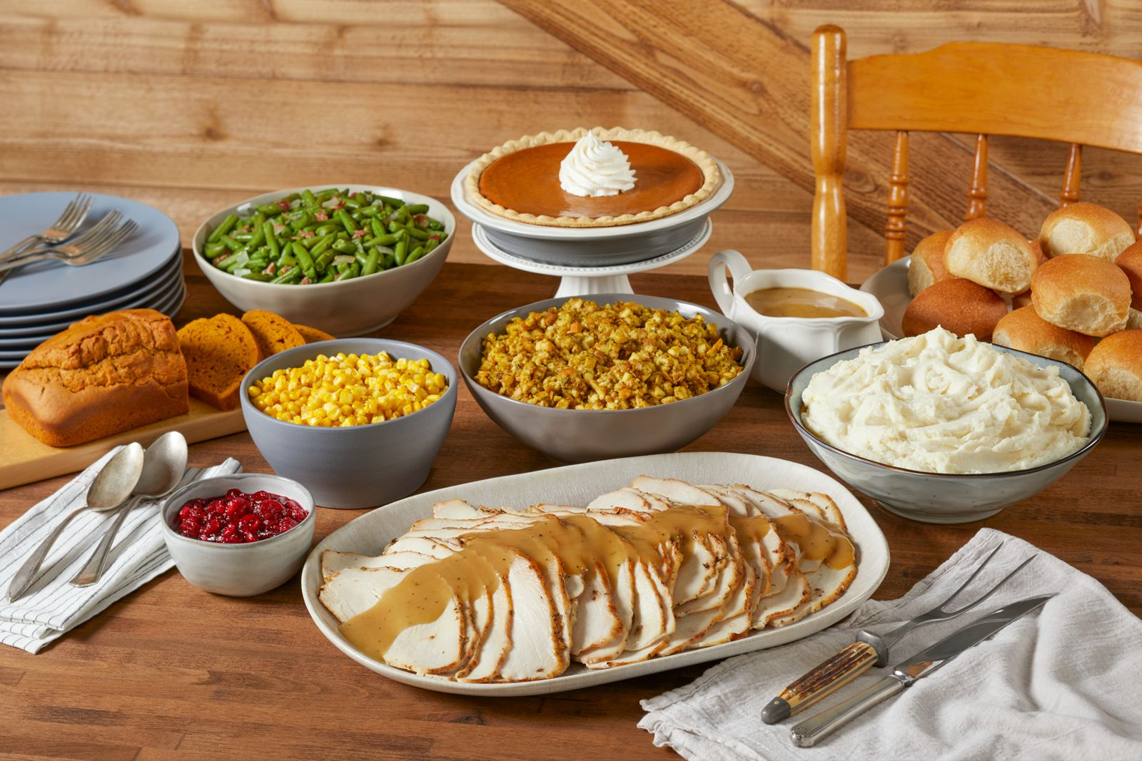 Bob Evans Farmhouse Feast with Turkey