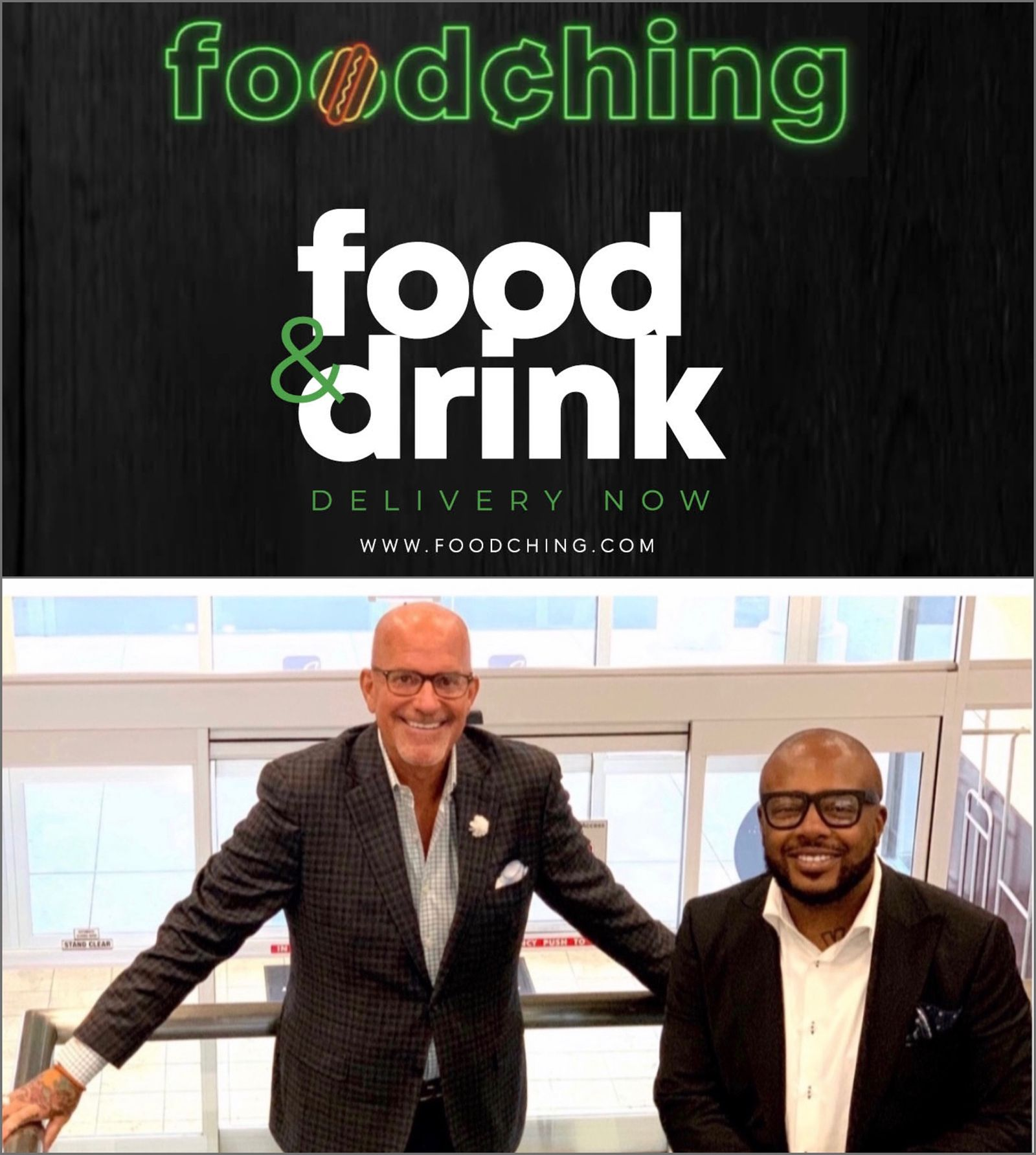 Co-Founders Greg George and Dennis McKinley Set to Launch 35 FoodChing Markets in January