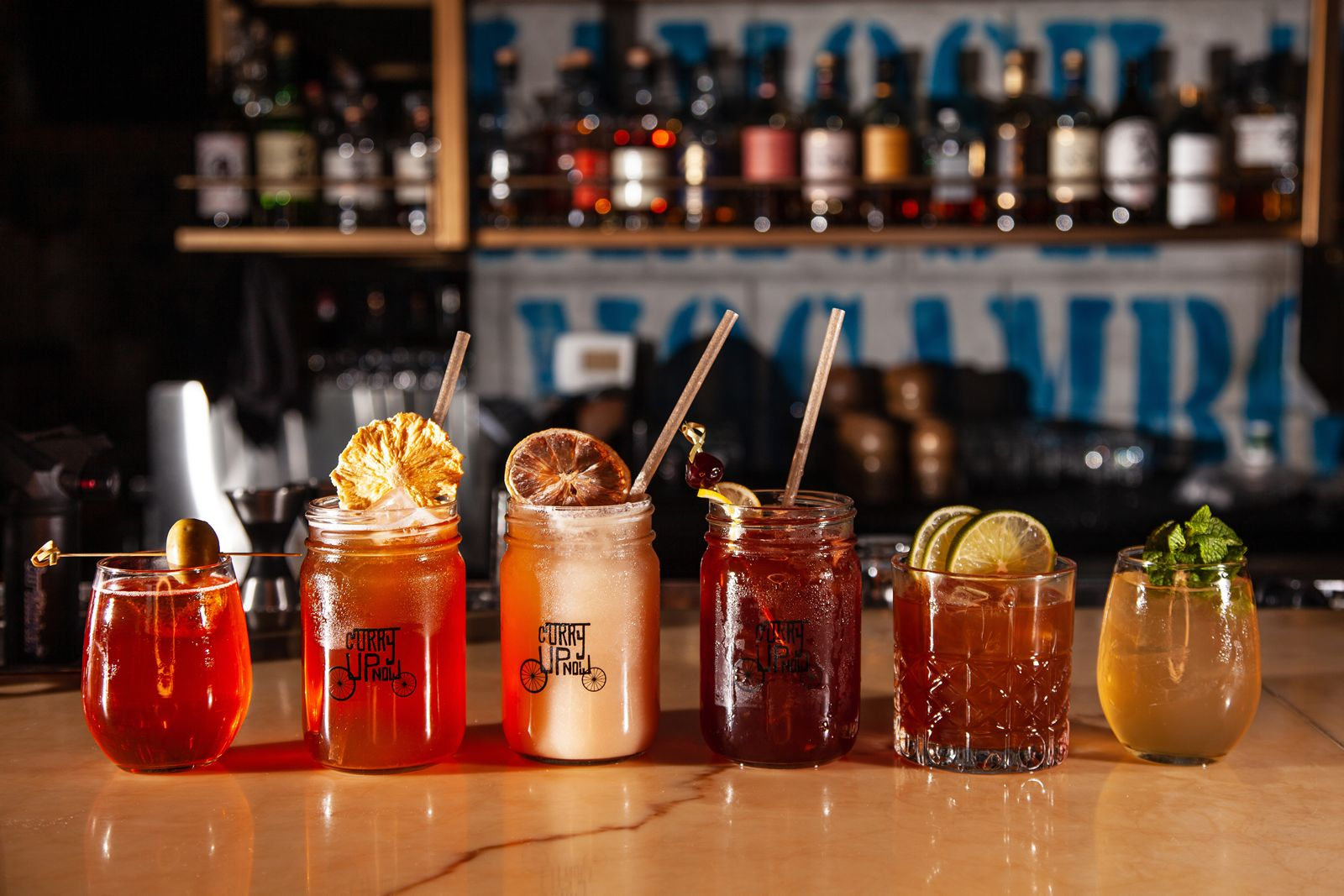 Curry Up Now, the nation's fastest growing Indian fast casual known for its innovative Indian eats, is introducing six new low proof cocktails to its menu at all Bay Area locations.