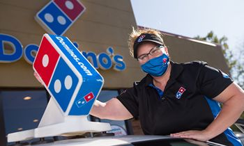 Domino's Commits More Than $9.6 Million to Frontline Worker Bonuses