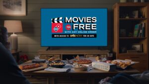 Domino's Pizza Night Just Became More Cinematic