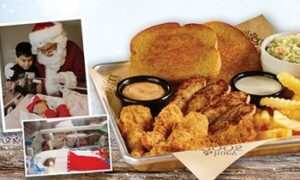 """Huey Magoo's Presents """"Round Up Your Change For Holiday Dreams"""" December 1-31 Benefiting Christmas Dreams"""