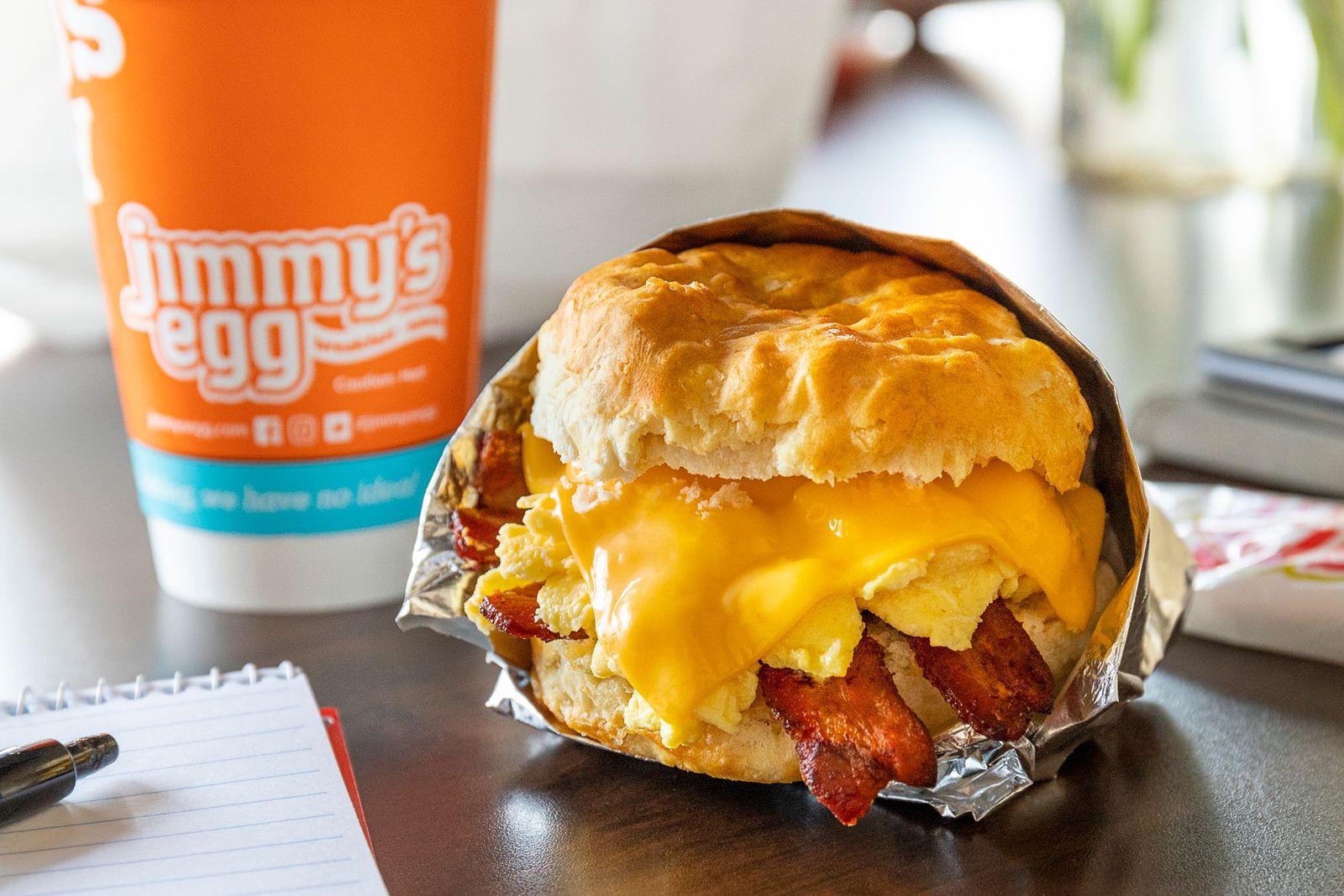 Jimmy's Egg Breakfast Biscuit Sandwich