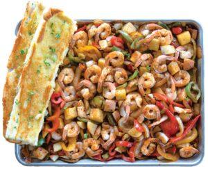 San Pedro Fish Market's World Famous Shrimp Tray