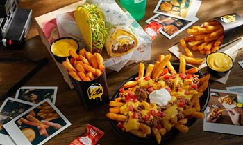 Walking In A Cheesy Wonderland: Taco Bell Nacho Fries Are Home For The Holidays