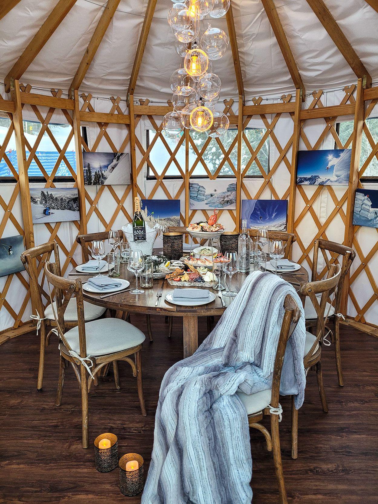 Opening of Yurt Village at the St. Regis Deer Valley Announced