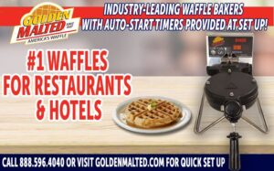 Add America's Favorite Waffles to Your Menu with Golden Malted - The #1 Waffles for Restaurants