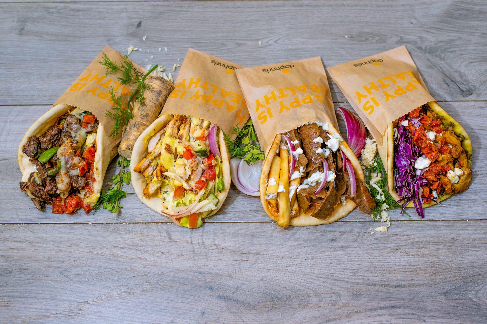 "Daphne's kicks off ""pita madness"" with the debut of four new pita sandwiches available for a limited time: theZesty Steak Pita,Honey Chicken Pita, Cali Pita, and Shawarma Pita."
