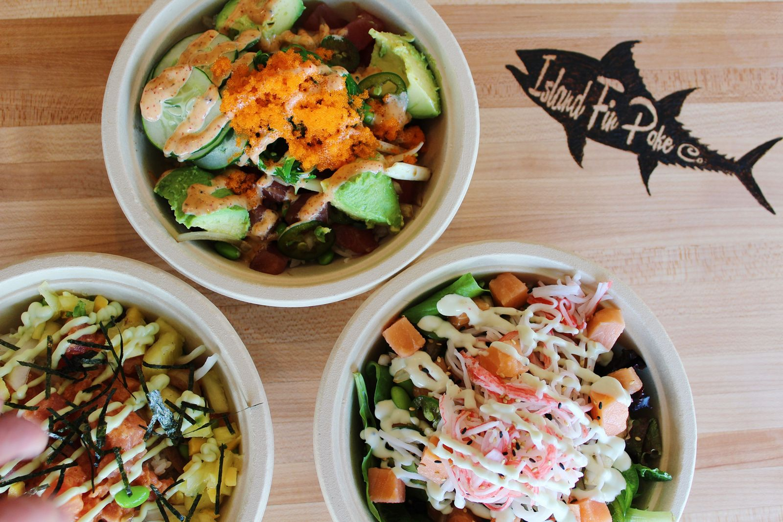 Island Fin Poké Co. Opens First NoVA Location in Falls Church