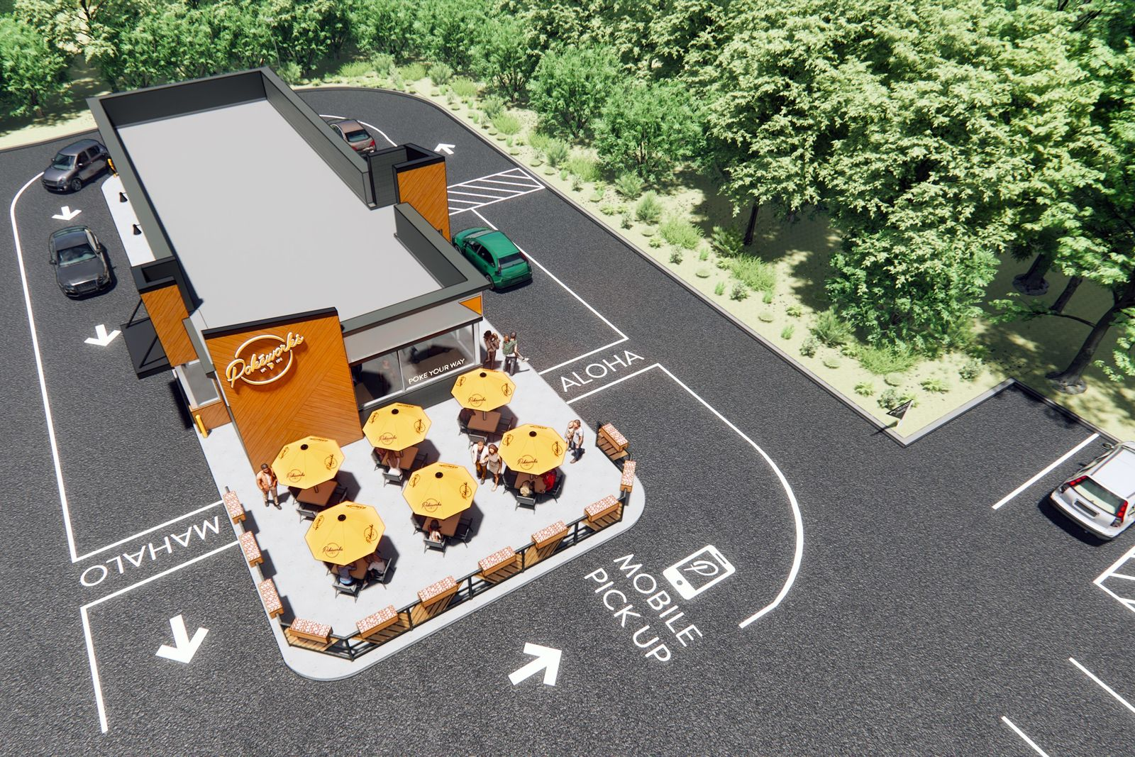 Pokeworks Unveils Prototype for Innovative Cruise-Thru Lane to Serve the Modern Consumer
