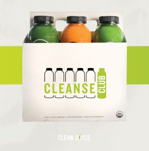 Clean Juice Expands Popular Organic Cold-Pressed Cleanse Line, Unveils Cleanse Subscription Service