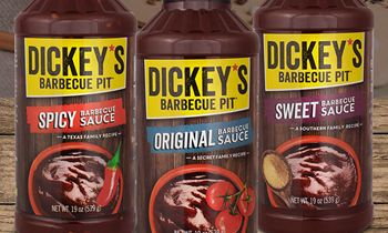 Dickey's Barbecue Pit's Sweet and Spicy Barbecue Sauce has Arrived by the Bottle