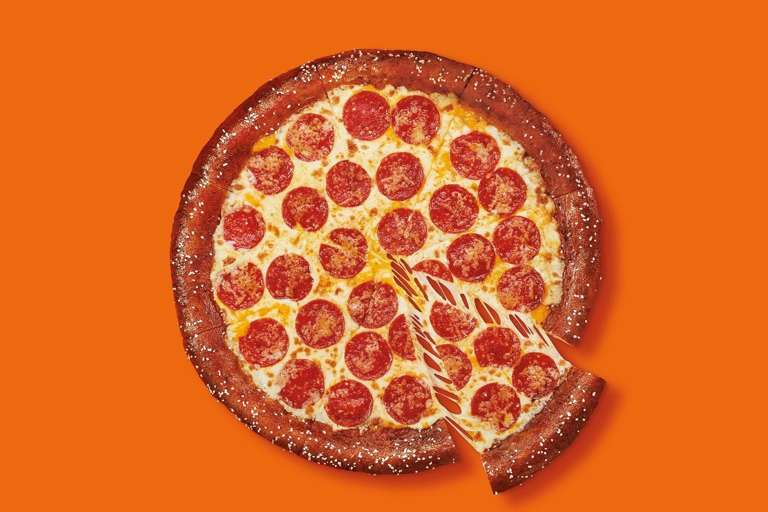 Little Caesars Answers Call From Enthusiastic Fans And Brings Back Pretzel Crust Pizza