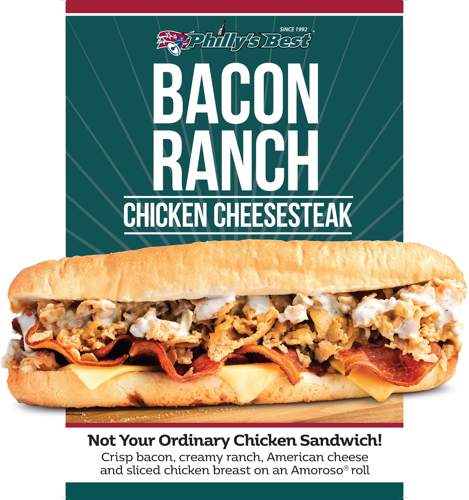 Philly's Best Launches new Bacon Ranch Chicken Cheesesteak