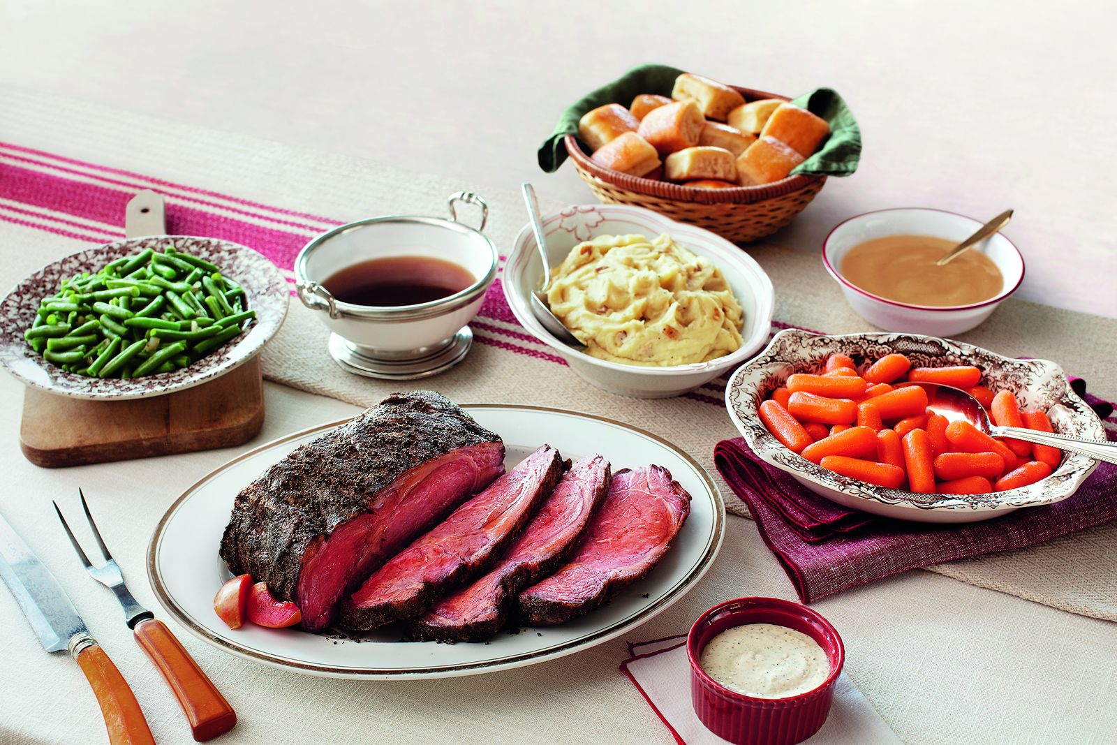 Cracker Barrel Old Country Store Prime Rib Heat n' Serve Family Dinner