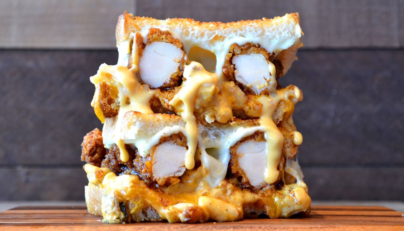 Kings Family Restaurant Nashville Hot Chicken Grilled Cheese