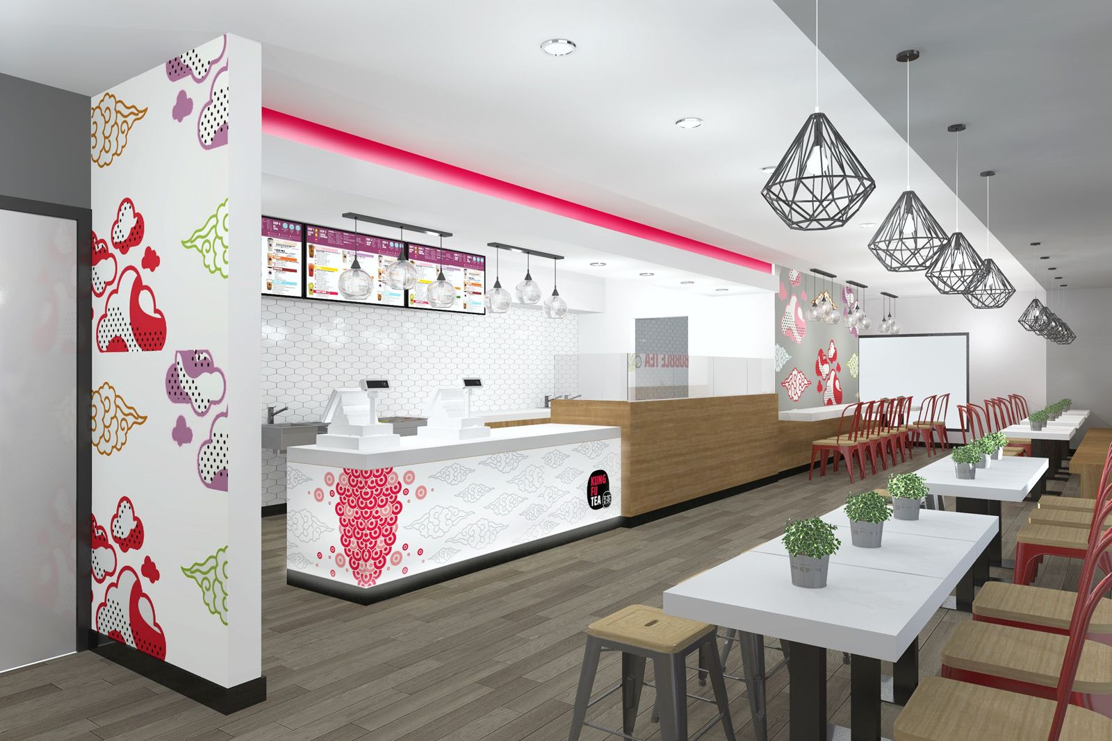 Kung Fu Tea Franchise Opens Up a New Location in National City with the Help of Mindful Design Consulting