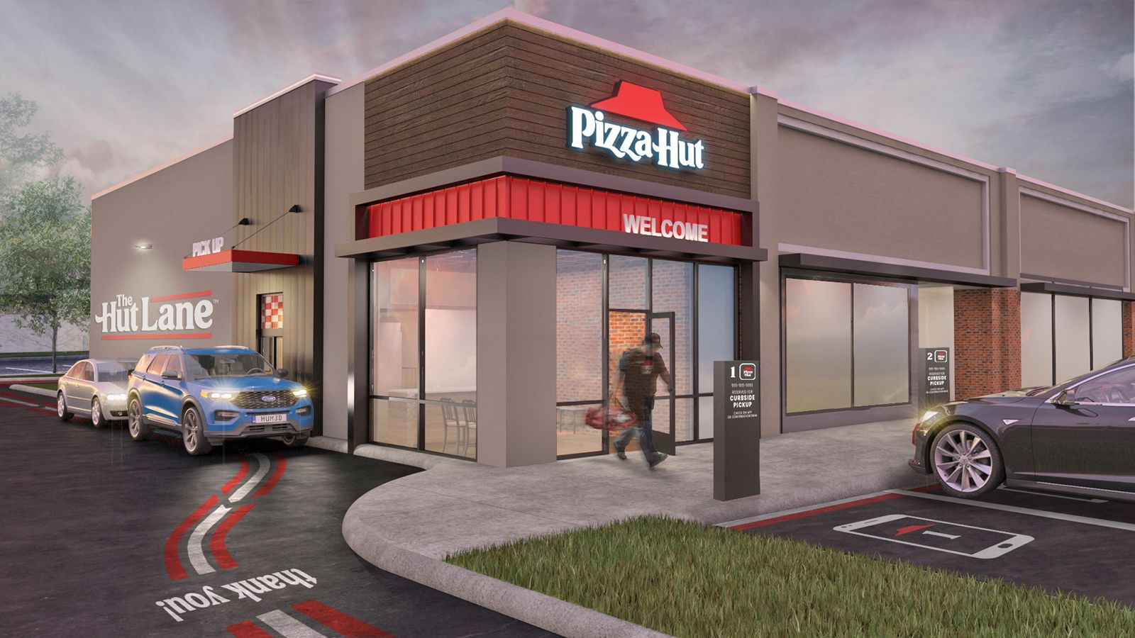 Pizza Hut Launches The Hut Lane -- A Digital-First Carryout Option