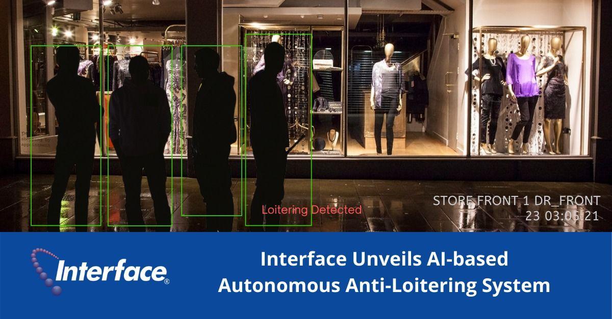 Interface Unveils AI-based Autonomous Anti-Loitering System