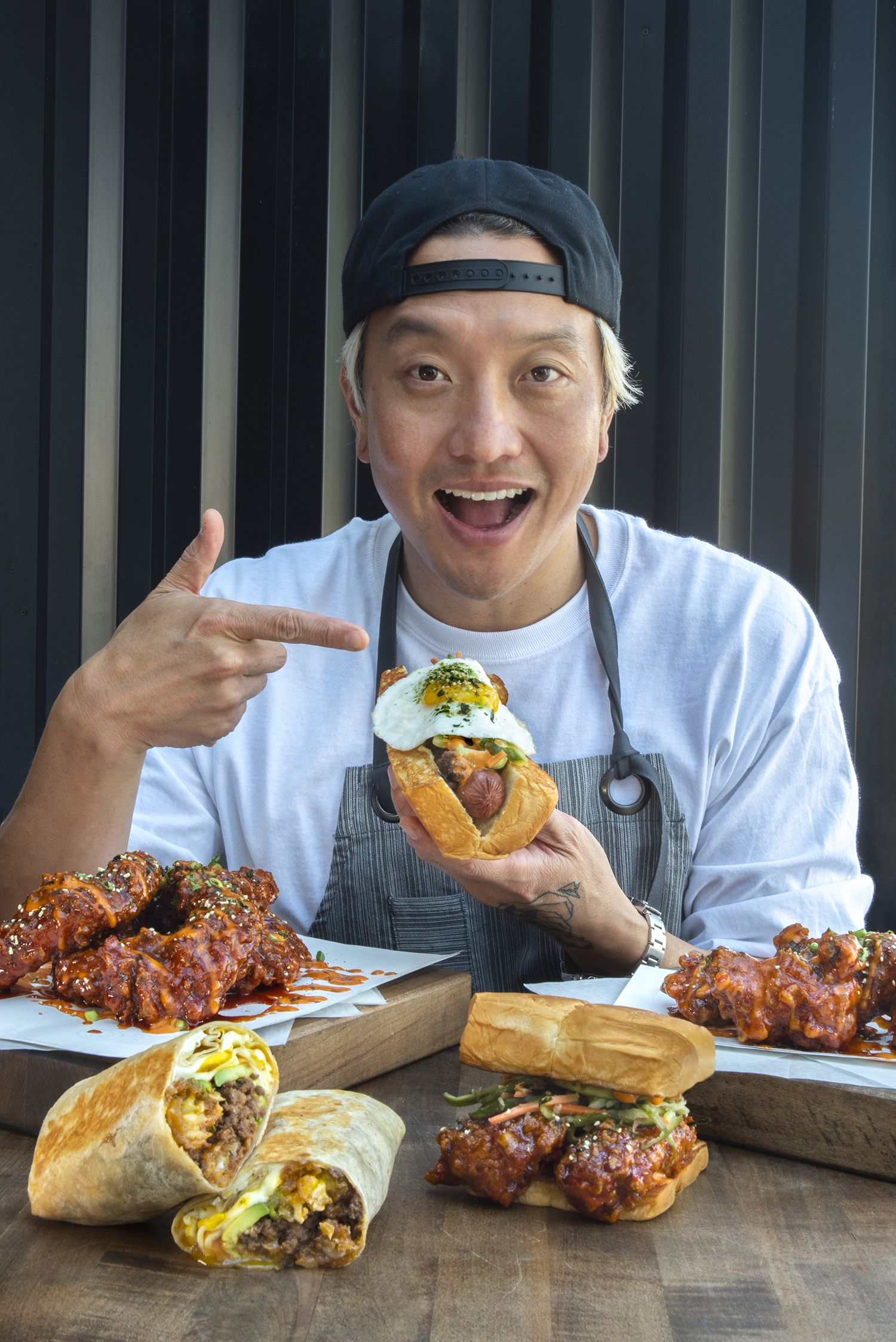 Chef/Restaurateur Chris Oh