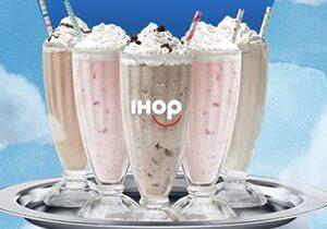 "IHOP Celebrates ""Milkshake Monday"" Nationwide With $50,000 Charitable Donation on Monday, May 10, 2021"