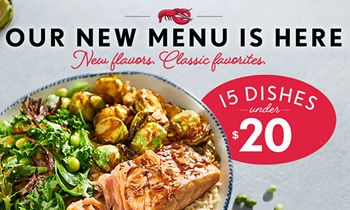 Red Lobster Unveils New 15 Dishes Under $20 Menu