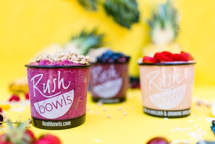 Rush Bowls Opens Newest Location in Simsbury