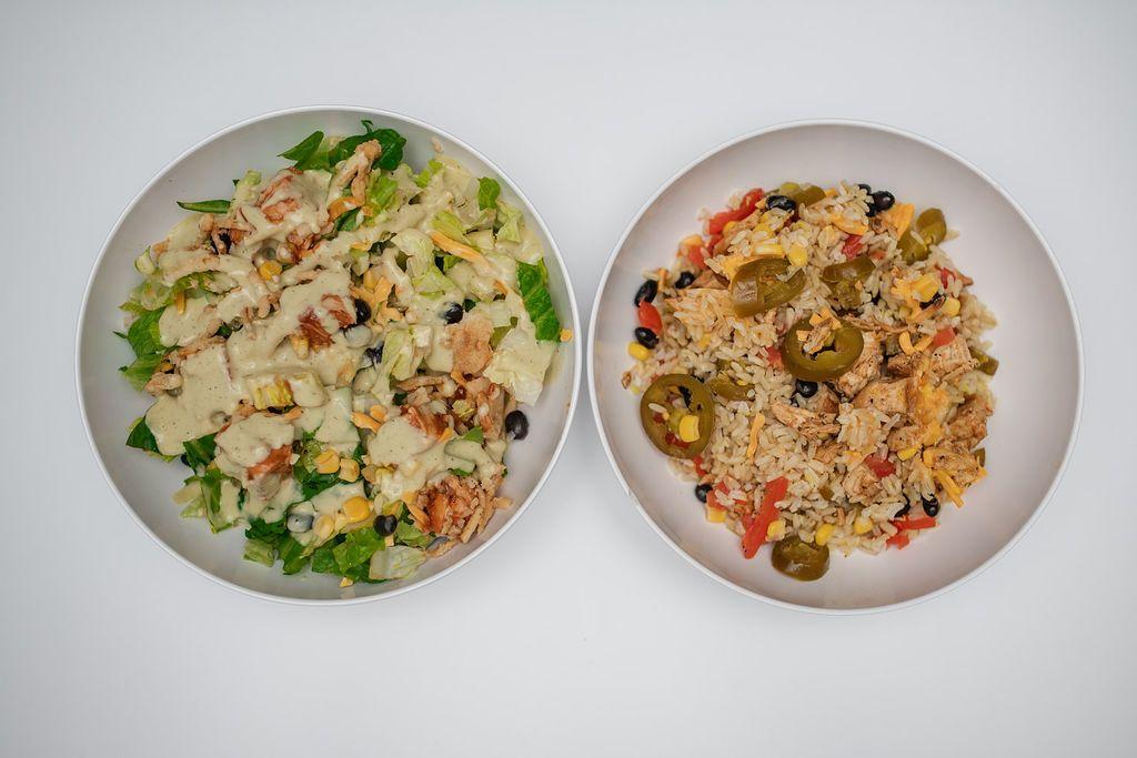 The Salad House Backyard BBQ Salad and Burrito Bowl