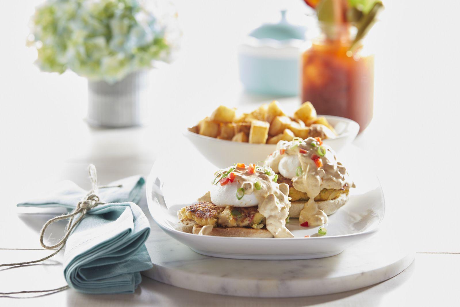 Another Broken Egg Cafe Crab Cake Benedict