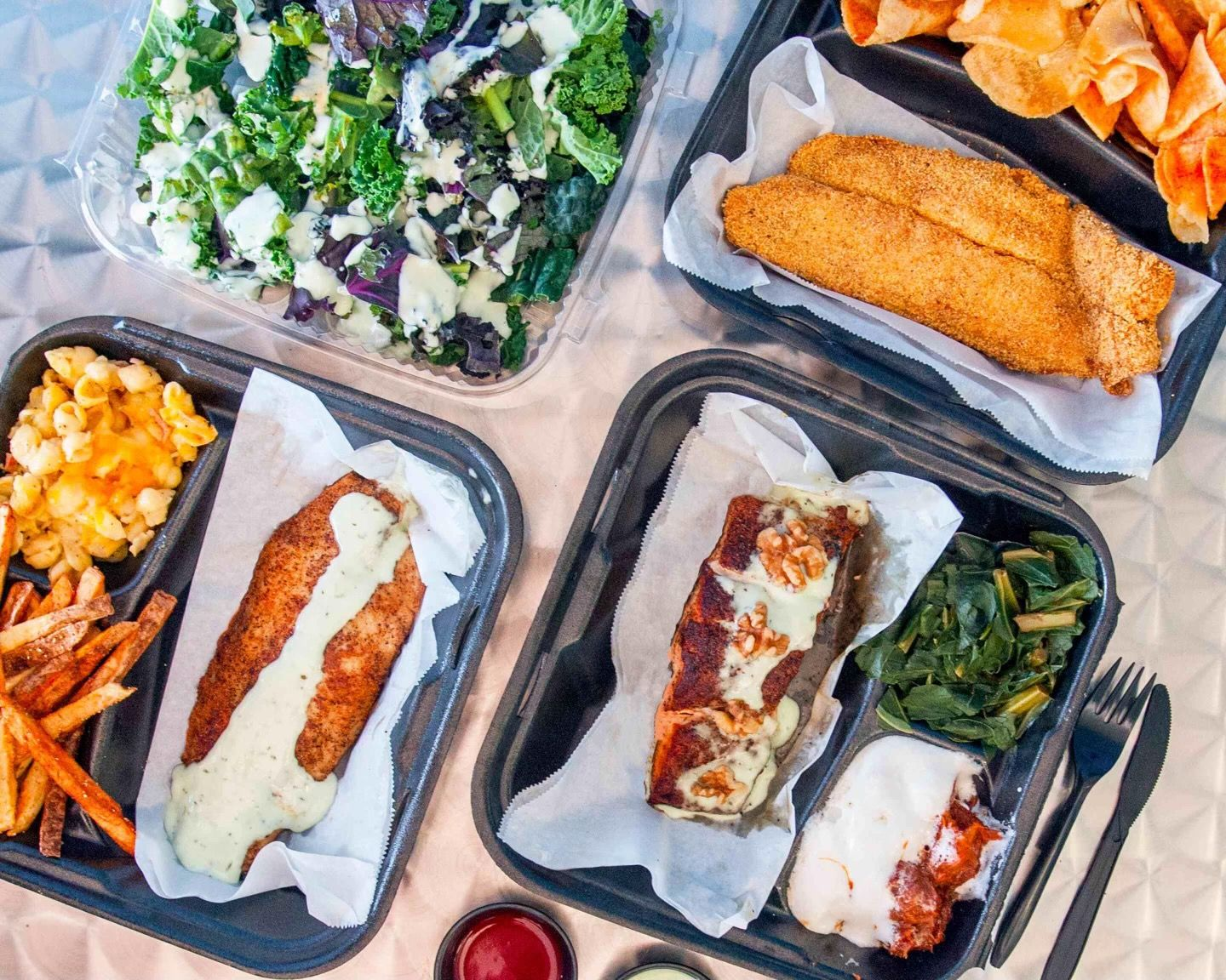 Coca-Cola and BET Shine Spotlight on Southern California Favorite Casual Dining Spot My Fish Stop Restaurant Highlighted During BET Show on Coca-Cola's Seat at The Table Starring Artist Coi LeRay