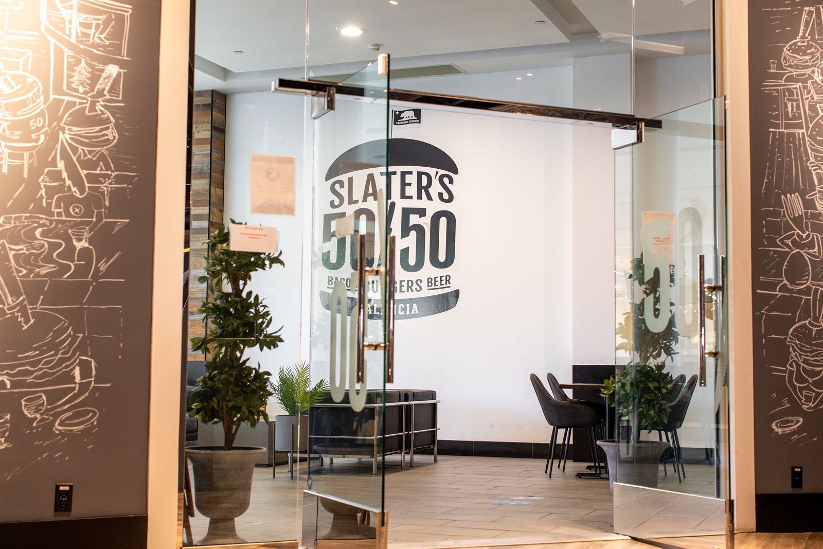 Slater's 50/50 Valencia is celebrating their 1 year anniversary with a full week of festivities from Monday, June 28th - Sunday, July 4th.