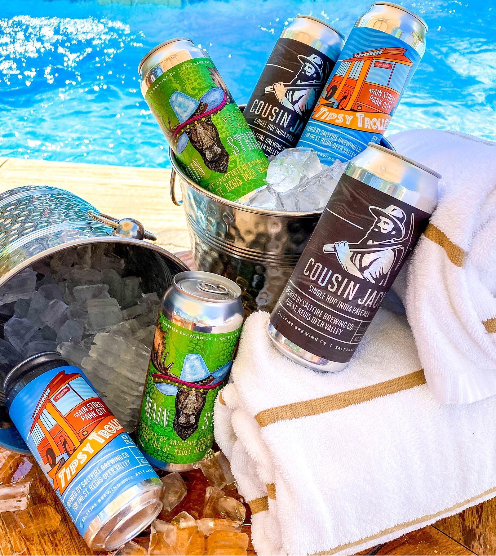 St. Regis Deer Valley in Park City Opens Beer Garden