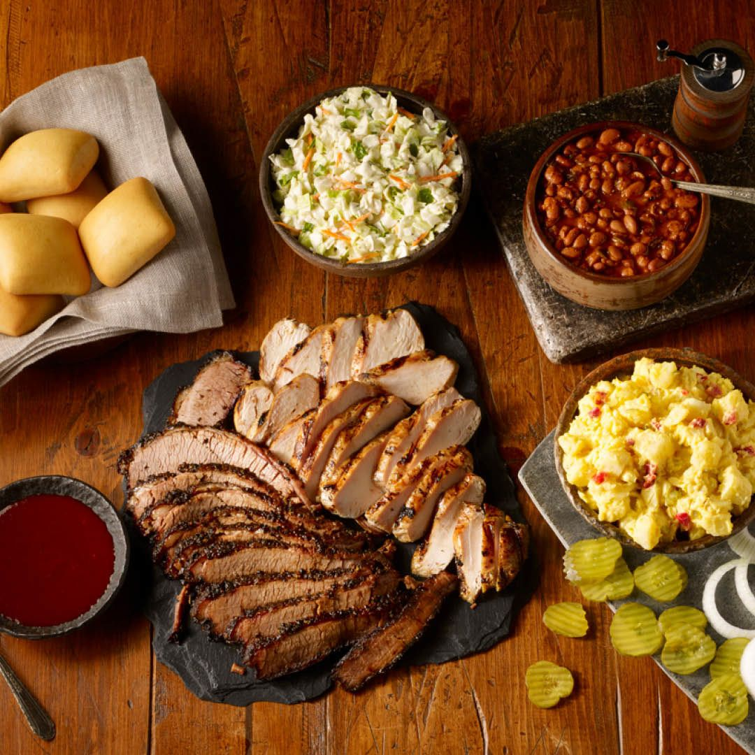 Celebrate Fourth of July Red, White and Barbecue Style with Dickey's Party Packs