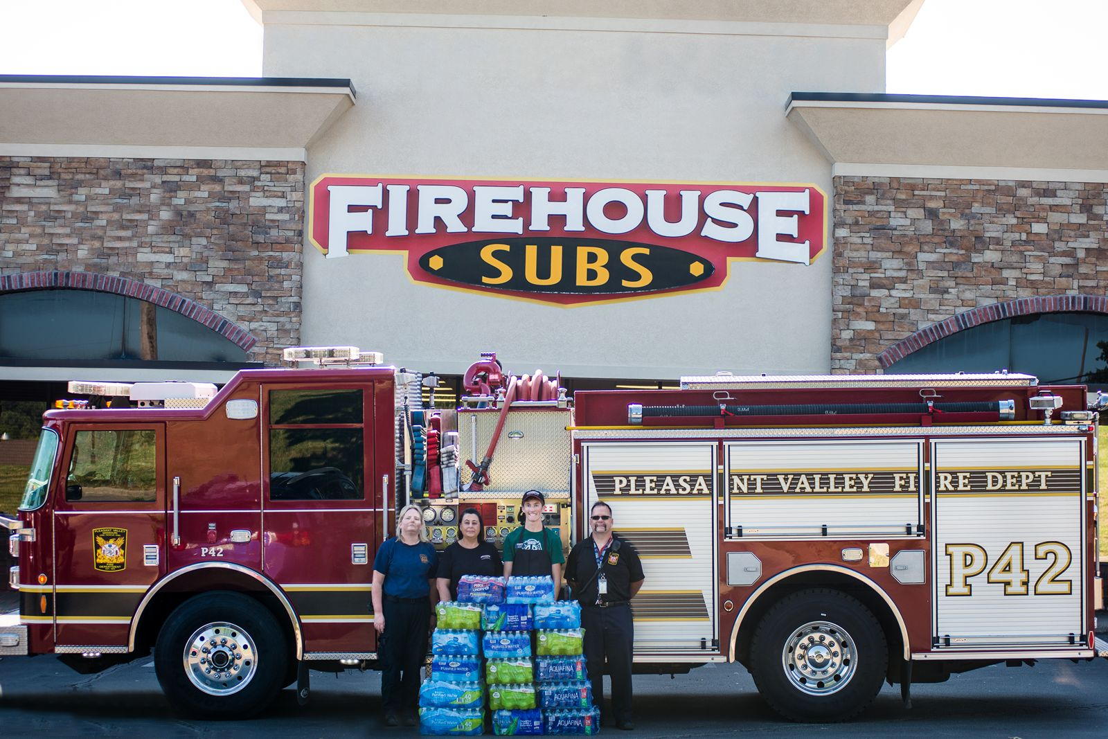 Firehouse Subs Quenches Nationwide Need Amidst Record-Breaking Summer Temperatures with Ninth Annual H2O For Heroes