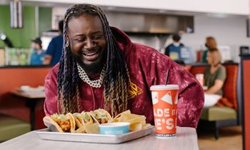 Moe's Southwest Grill Partners With T-Pain To Launch Frank's RedHot Buffalo Queso Taco