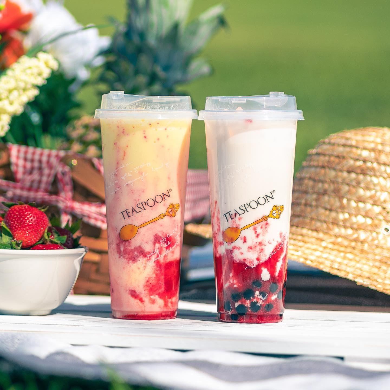 Teaspoon Takes More of the Boba Tea Market Through 4 New Franchise Stores