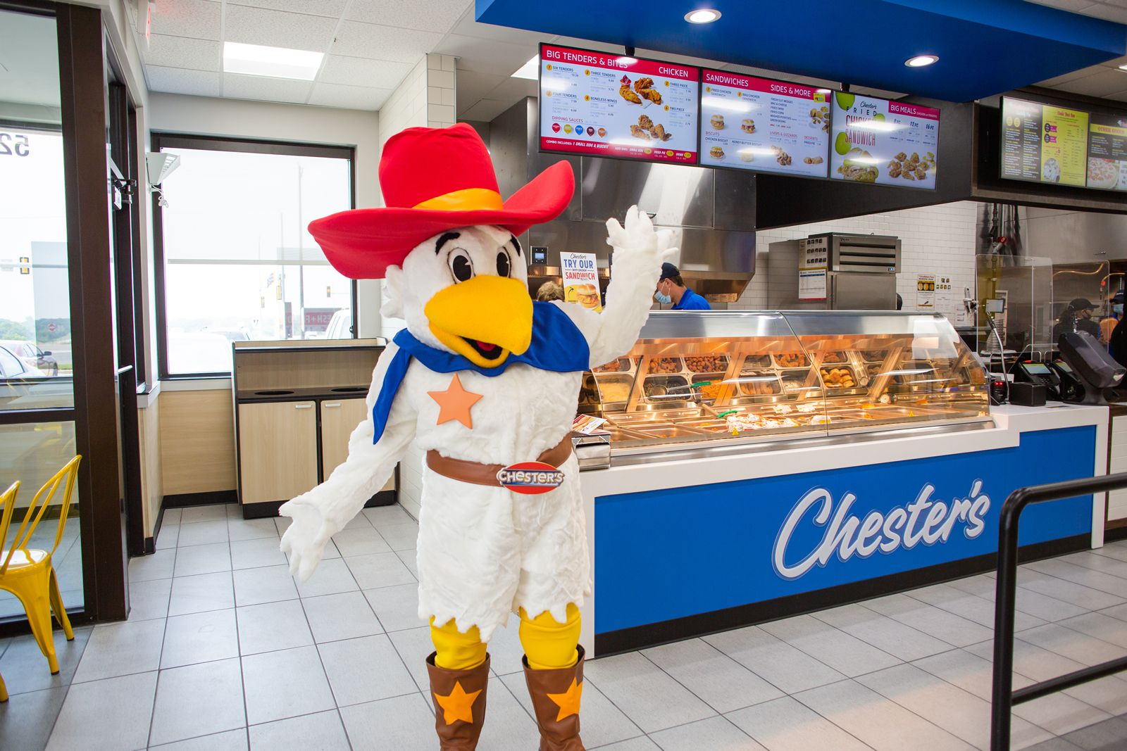 Chester's Chicken Debuts Store Redesign at Three New Locations