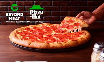 Pizza Hut Expands Partnership with Beyond Meat to Test New Plant-Based Beyond Pepperoni Pizza Topping