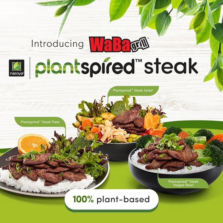 Nasoya Foods' New Plantspired Line Product Now Featured at All WaBa Grill Locations