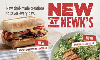 Newk's Debuts 9 All-New Signature Menu Items