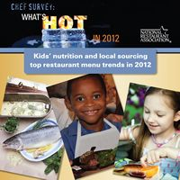 Hottest Restaurant Menus Trends in 2012