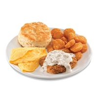 Hardee's Beefs Up Breakfast with New Country Fried Steak 'N' Gravy Platter