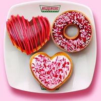 Krispy Kreme Valentines Doughnuts: Three Tasty Ways to Say 'I Care'