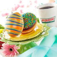 Fill Your Basket with Krispy Kreme's New HOP Movie-Inspired Doughnuts