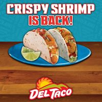 It's Shrimply Delicious: Crispy Shrimp Back at Del Taco for a Limited Time