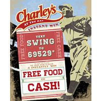 Charley's Grilled Subs to Kick off Baseball Season With Text Campaign Where Every Player Wins