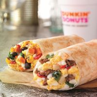Dunkin' Donuts Introduces New Breakfast Burritos