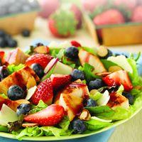 Wendy's Berry Almond Chicken Salad Back by Customer Demand