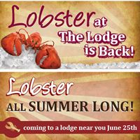 Bugaboo Creek Steak House Launches Lobster at the Lodge