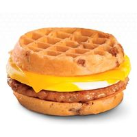 Breakfast Waffle Sandwich Wows Waffle Worshipers at Jack in the Box